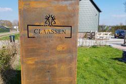 Claassen Buitenbeleving cortenstaal reclamezuil
