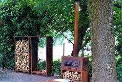 ADEZZ Burni Enok + wood storage