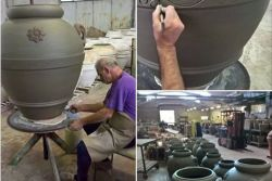 Tuscan pottery - production